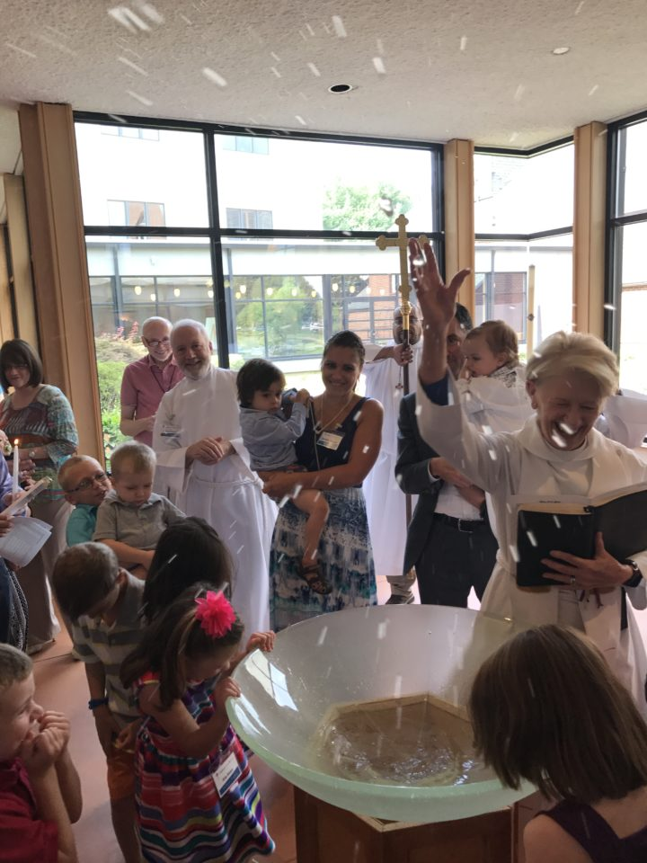 Baptismal Sprinkling